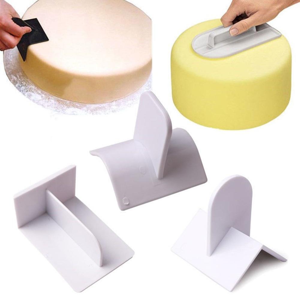 Cake Decorating Smoother Paddle Tool Sugarcraft Icing Fondant Polisher Finisher Kitchen,Dining & Bar Supplies