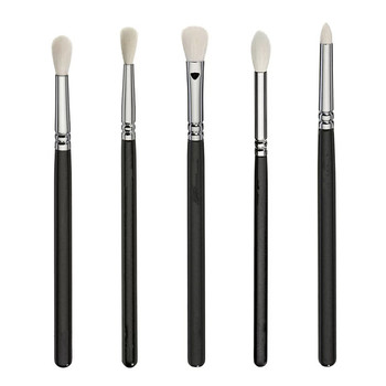 ZOEVA New  Luxe Complete Set 15 pieces Brushes For face & Eyes + Clutch NIB 4