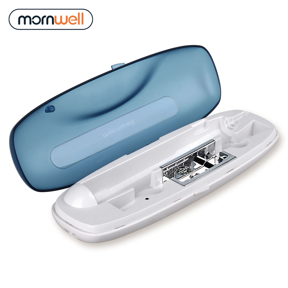 Eelectric Toothbrush Case with UV Toothbrush Sanitizer USB Charging for Mornwell Electric Toothbrush cheap sell uv toothbrush sanitizer sterilizer grey and white