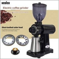 XEOLEO 150W Ghost tanden Elektrische koffiemolen 250g Koffie molenaar freesmachine Geel/wit/zwart Huishouden koffiemolen