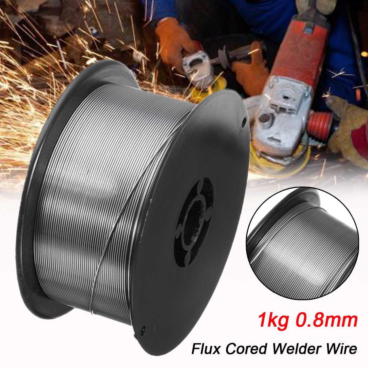 Gasless Mig Welding Wire E71T-GS / E71T-11 1kg 0.8mm Flux Core for Welder Wire Steel Flux Cored Welding Wire without gasGasless Mig Welding Wire E71T-GS / E71T-11 1kg 0.8mm Flux Core for Welder Wire Steel Flux Cored Welding Wire without gas