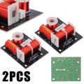 2pcs/lot 2 Way Audio Frequency Divider 2 Unit HiFi Speaker Sound-shelf Crossover Filters For Speaker Accessories