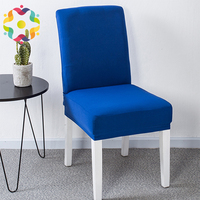Hot Selling Cheap Spandex Lycra Stretch Elastic 200G Half Chair Cover Wedding Party Home Dinner Decoration Half Chair Covers