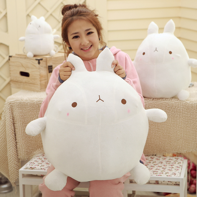 Humor Ted Kawaii Cute Molang Bunny,Stuffed Plush Toys & Gifts For Boys And Girls,for Holiday,Birthday & Everyday Fun