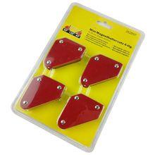 4 шт./компл. мини треугольник-Сварочный позиционер 9Lb Магнитный фиксированный угол пайки локатор инструменты без переключателя сварочные аксессуары