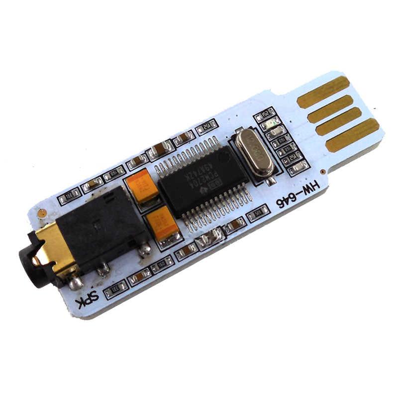 PCM2704 usb サウンドカードミニ usb サウンドカードの dac デスクトップ外部の独立したドライブ