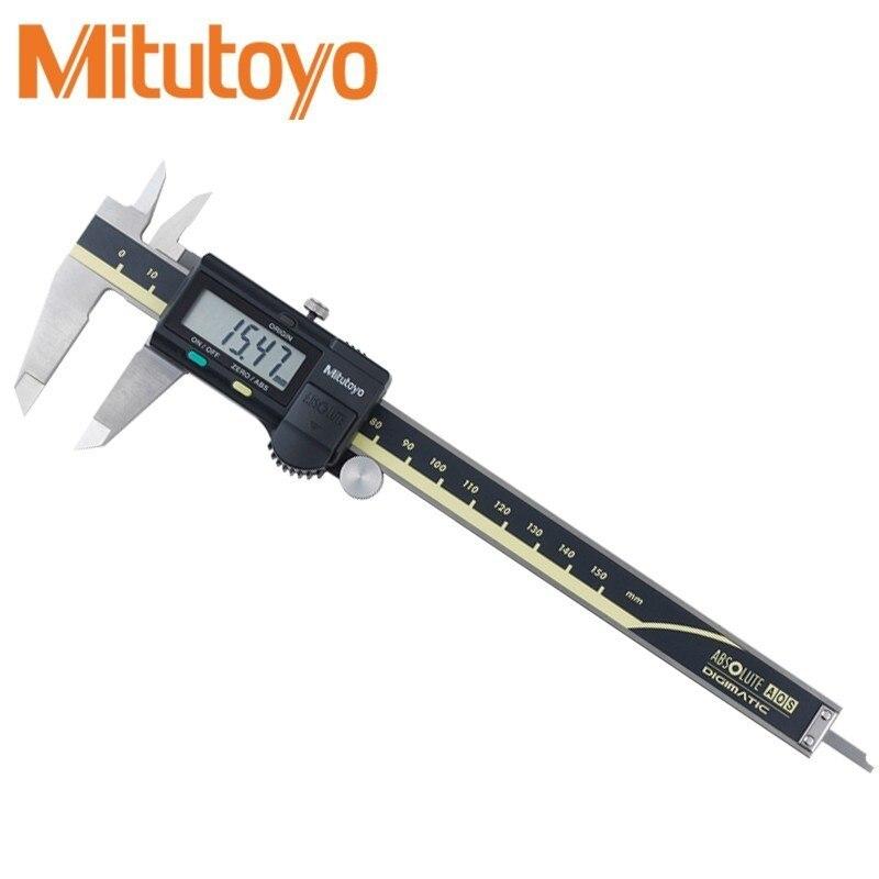 Pieds à coulisse numériques Mitutoyo 0-150 0-300 0-200mm LCD 500 192 20 étrier mitutoyo jauge électronique de mesure en acier inoxydable