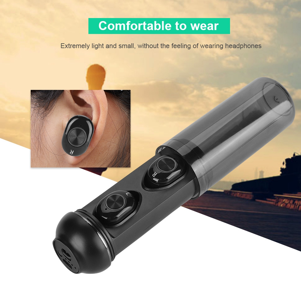 On Sale Mini Waterproof Wireless Bluetooth 5.0 Earphone TWS Earbuds with Charging Box