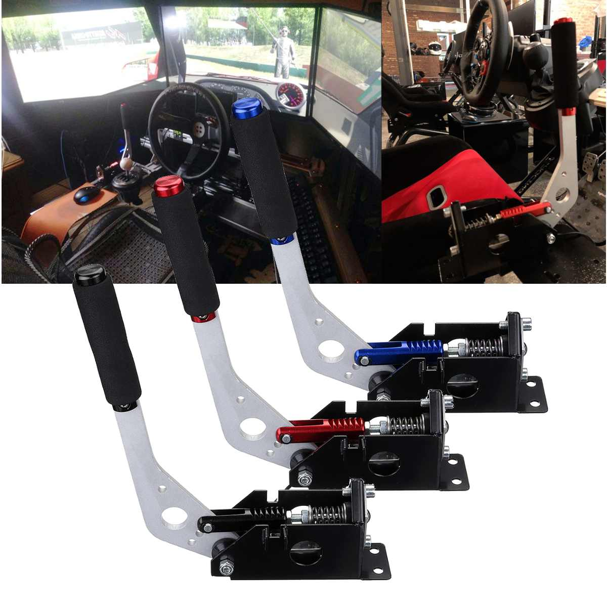 USB Handbremse Handbrake for Racing Games G25/ 27/29 T500 FANATEC OSW DIRT RALLY image