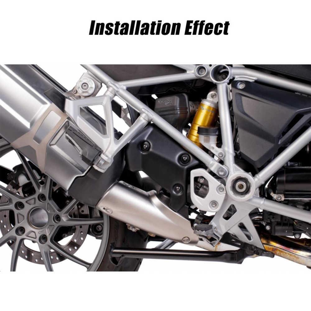 Para BMW R1200GS LC R1250GS ADV R 1200 GS tapa de la solapa de escape marco superior Panel lateral medio accesorios de la motocicleta