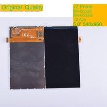 10 قطعة/الوحدة لسامسونج غالاكسي الكبرى رئيس زائد J2 Prime G532 SM G532F شاشة الكريستال السائل لوحة الشاشة وحدة رصد J2 Ace G532 LCD