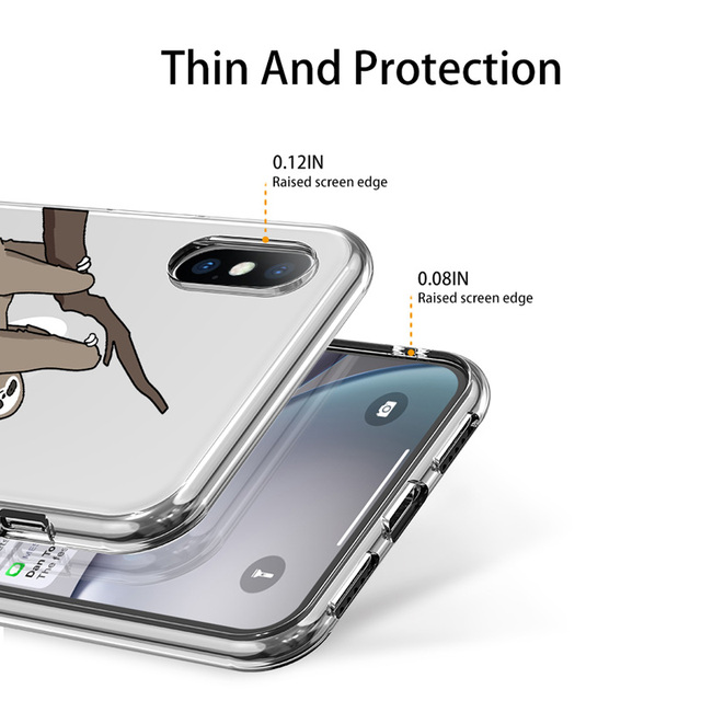 Animal Patterned Soft TPU Case for iPhone