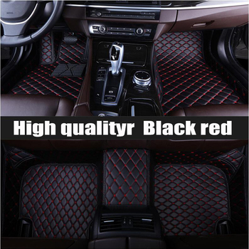 ZHAOYANHUA Custom car floor mats for Peugeot 408 508 607 2008 3008 4008 206 207CC 301 307CC 308S RCZ     tyling carpet floor