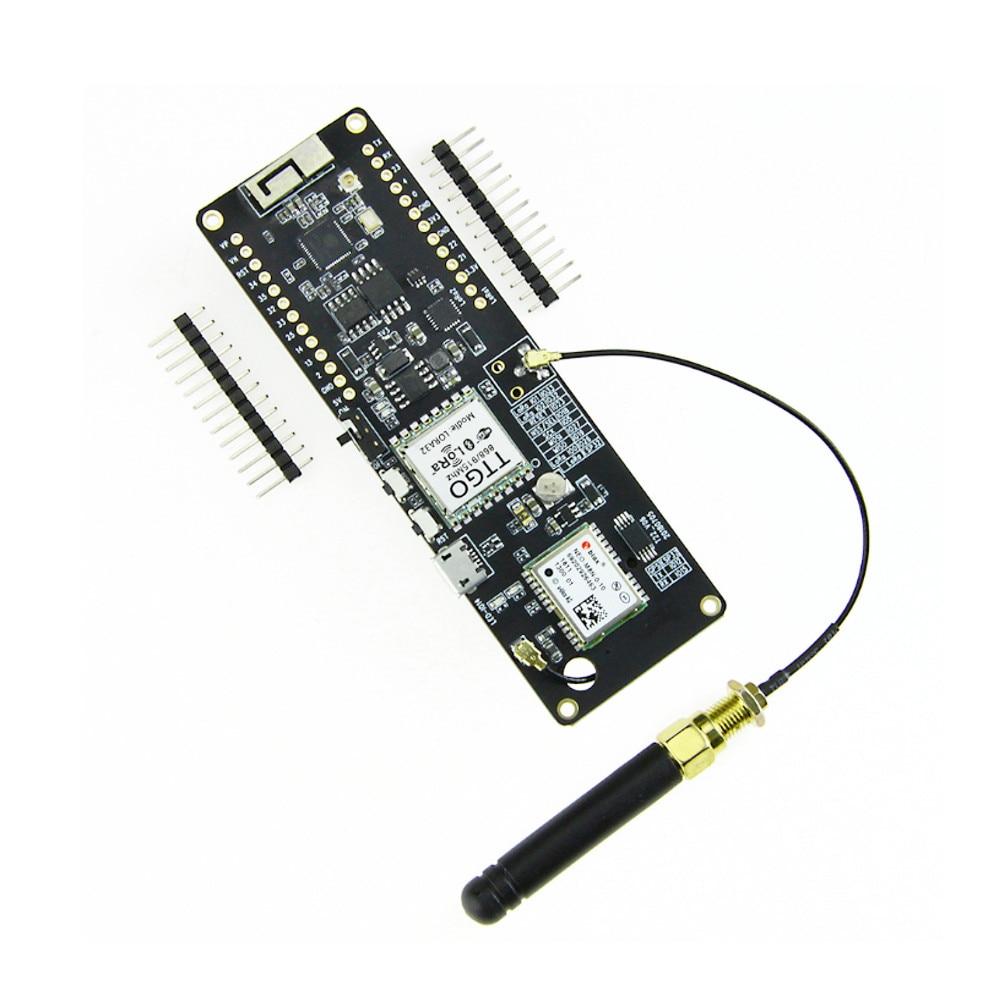 T-beam 915 MHz ESP32 WiFi sans fil bluetooth Module ESP32 GPS NEO-M8N pour IPEX pour LORA 32 18650 support de batterie