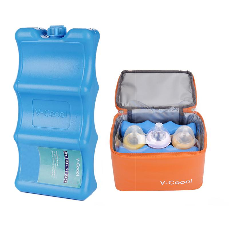 Reusable Ice Pack Environmental Protection Cooler Milk Storage For Cooler Bag For Baby Case