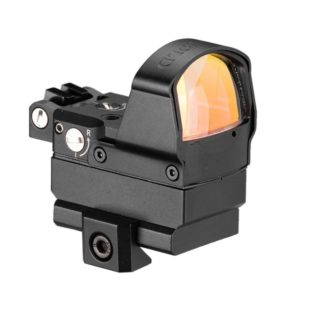 Image 3 - Tactical DP Pro Style Red Dot Reflex Sight Scope With Picatinny Mounts For Pistol Airsoft 1911 1913-in Riflescopes from Sports & Entertainment
