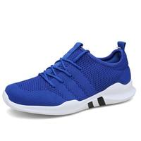 Легкий мужской спортивная обувь дышащая zapatillas hombre обувь для прогулок для мужчин открытый удобные спортивные 2019 Новые поступления