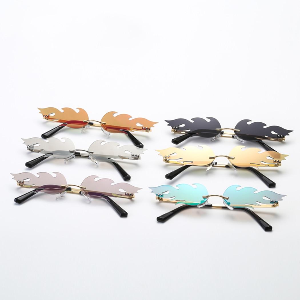 vague des lunettes de soleil des lunettes la flamme du feu fashion lunettes