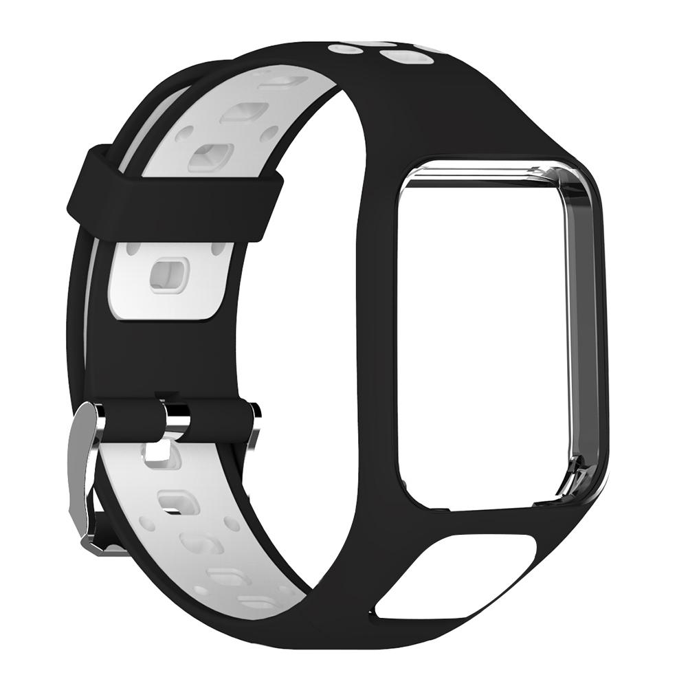 Image 4 - Silicone Replacement Watchband Wrist Band Strap For TomTom 2 3 Runner 2 3 Spark 3 GPS Watch Strap Porous Design Comfortable-in Smart Accessories from Consumer Electronics