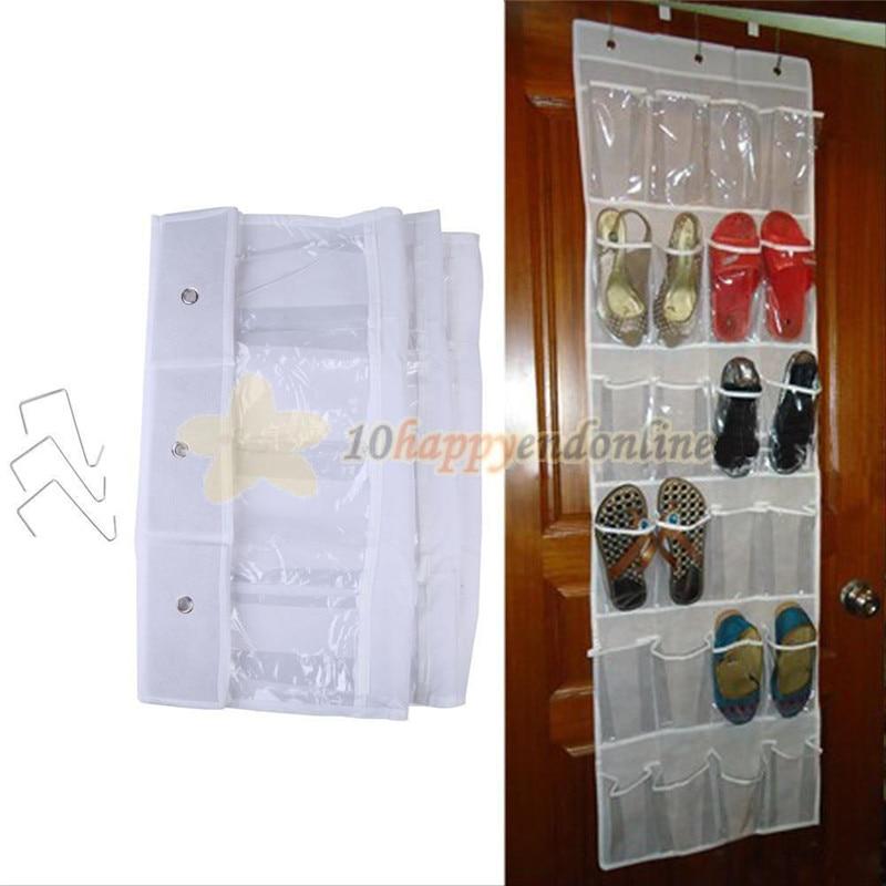 Shoe Space Door Hanging Organizer Rack Wall Bag Storage Closet Holder 16 Pocket