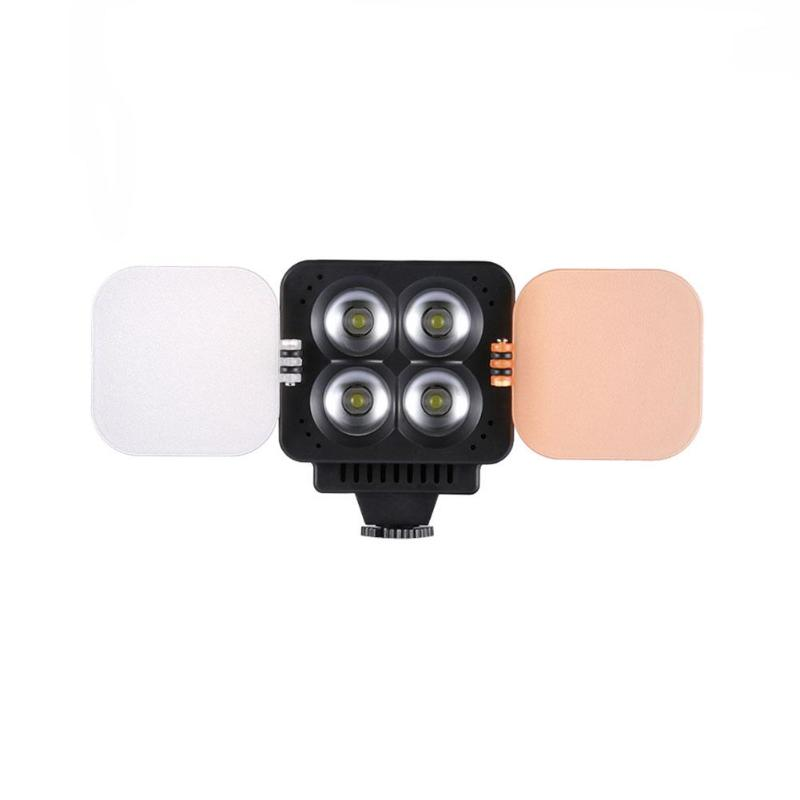LED Camera Phone Video Light Mini Portable Camera Video LED Light Dimmable LED Photo Lighting on Camera Fill Light for DSLR
