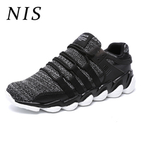 NIS Male Big Size Canvas Sports Casual Shoes Sneakers Men Vulcanized Shoes Breathable Low Top Lace Up Running Outdoor Sneakers