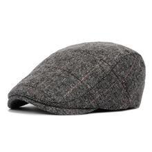 2019 New Men's Newsboy Beret Driver Hats Plaid Gatsby Cap Ivy Hat Golf Driving F