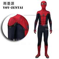 Glowing Dream High Quality Newest Spider Man Cosplay Costume For Far From Home Spiderman Costume For Men
