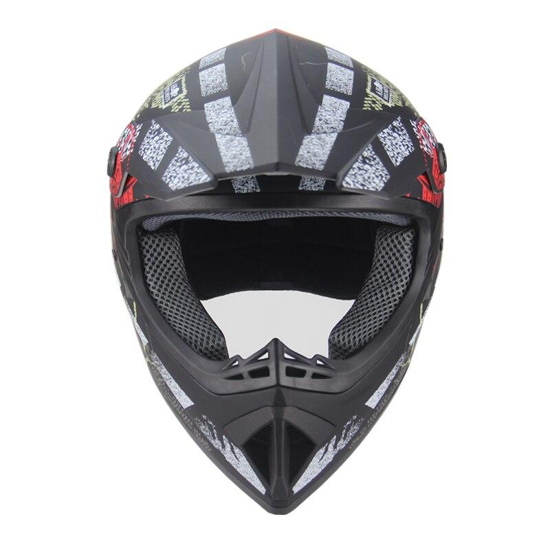 Livraison gratuite moto adulte motocross hors route casque ATV Dirt bike descente vtt DH course casque cross casque capacetes - 5