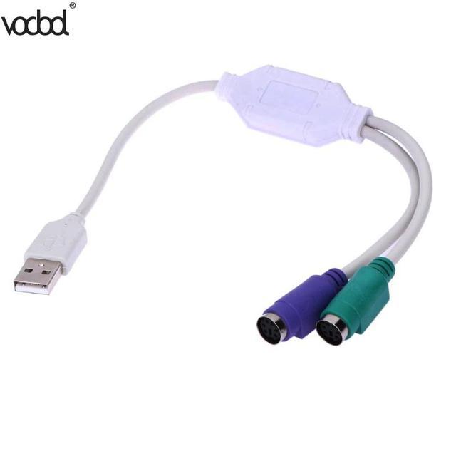 31 センチ高品質 PS/2 ケーブルアダプタコンバータマウスキーボード変換アダプタ PS2 インタフェースコネクタ新しい
