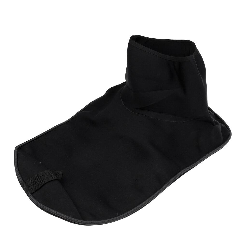 Couverture universelle imperméable de jupe de plate-forme de jet de bateau marin de Kayak de couverture-noir