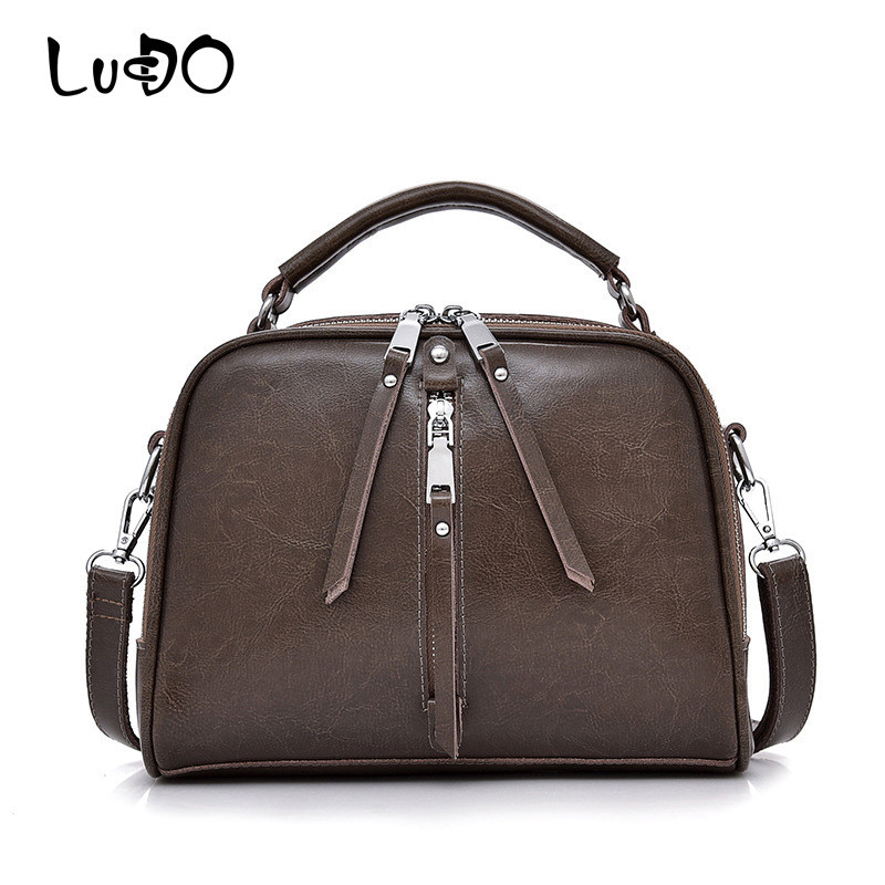 LUCDO Brand New Fashion Genuine Leather Bag Women Messenger Bags Bolsa Handbags Sac a Main Bolsos Mujer Shoulder Crossbody Bag LUCDO Brand New Fashion Genuine Leather Bag Women Messenger Bags Bolsa Handbags Sac a Main Bolsos Mujer Shoulder Crossbody Bag