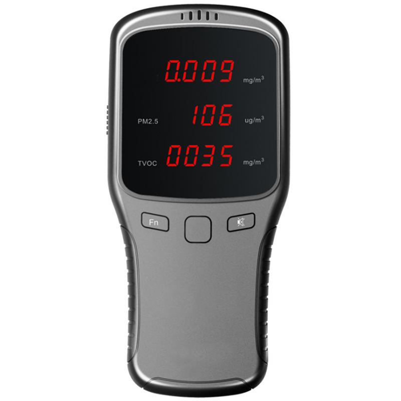 Household Formaldehyde Detector PM2.5 Smog Formaldehyde Tester Air Quality Detector #35Household Formaldehyde Detector PM2.5 Smog Formaldehyde Tester Air Quality Detector #35