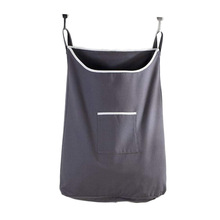 Portable Door Hanging Laundry Bag Space Saving Wall Hanging Laundry Bag with 2 Hooks Extra Large Suction Cup Hook