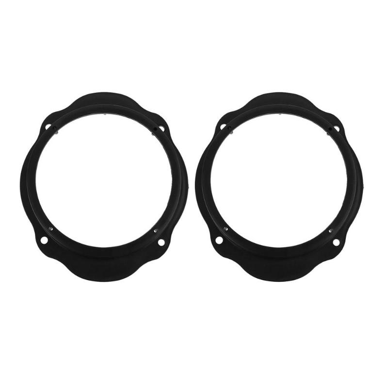 2pcs 6.5in Car Front Door Speaker Spacer Ring Adapter Plates for Ford Focus