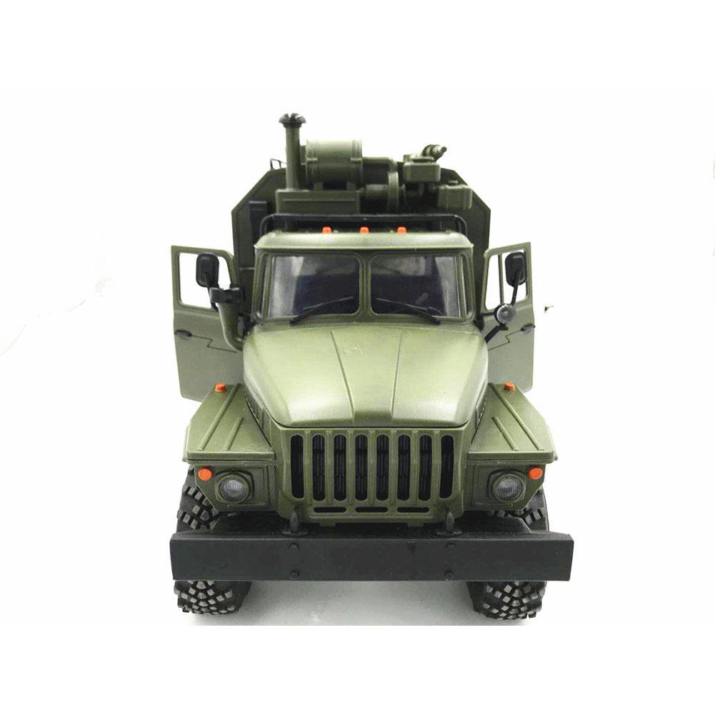WPL modèle B36 RC camion voiture sur chenilles Mini tout-terrain télécommande Ural véhicule militaire escalade adulte jouet bricolage RTR jeu de construction - 5