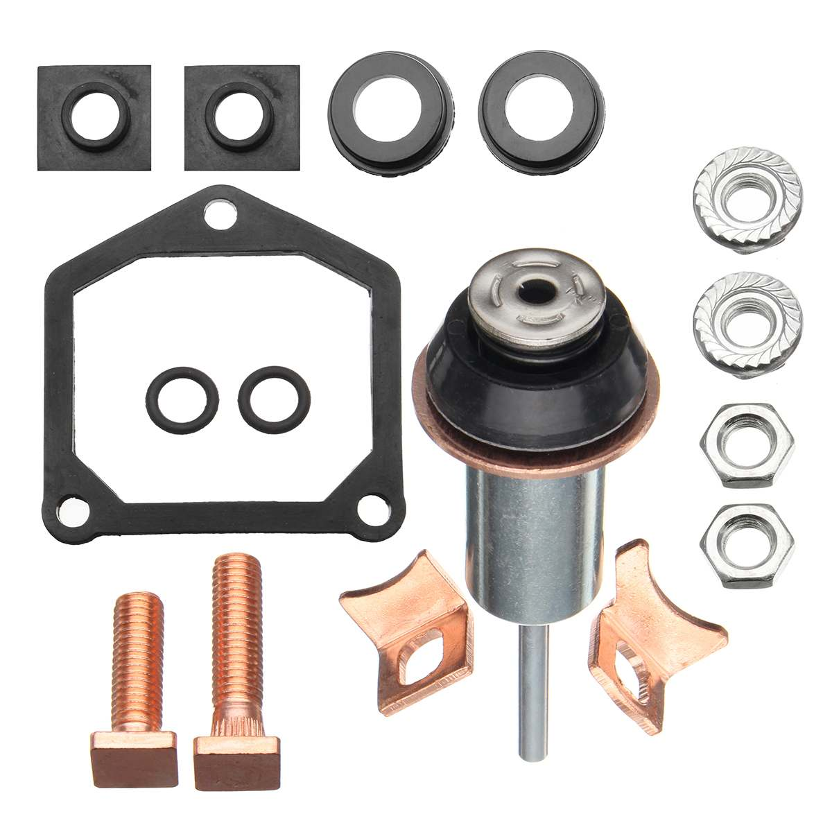 High quality Starter Solenoid Repair Rebuild Kit Set Contacts Parts For Toyota for SubaruHigh quality Starter Solenoid Repair Rebuild Kit Set Contacts Parts For Toyota for Subaru