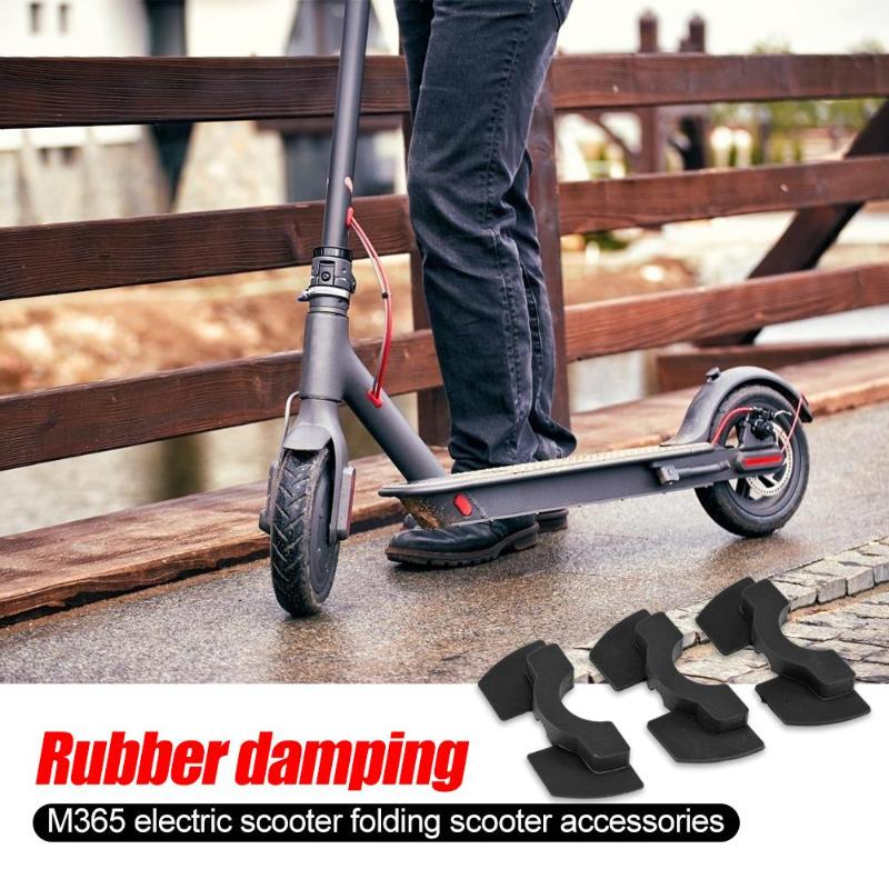 Electric Scooter Modified Accessories Pole Front Fork Vibration Shake Avoid Damping Rubber Pad Folding Cushion For Xiaomi M365