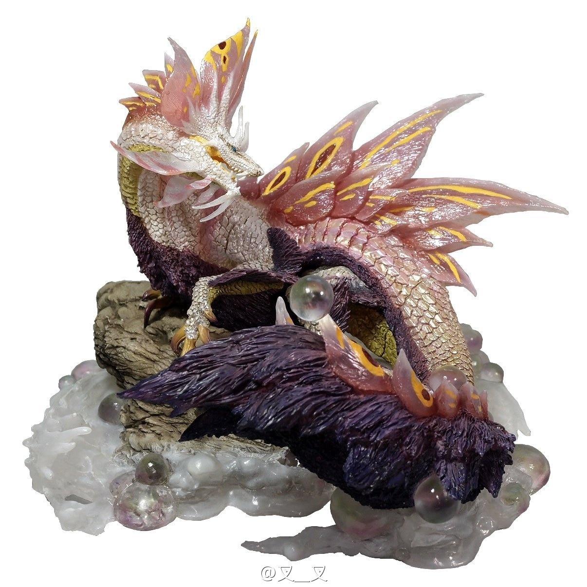 Nouvelle Offre Spéciale Résine Capcom BFC Monster Hunter Bulle maquette de dragon Cadeau Décoration De Bureau Collection Jouet Funko Pop Lol