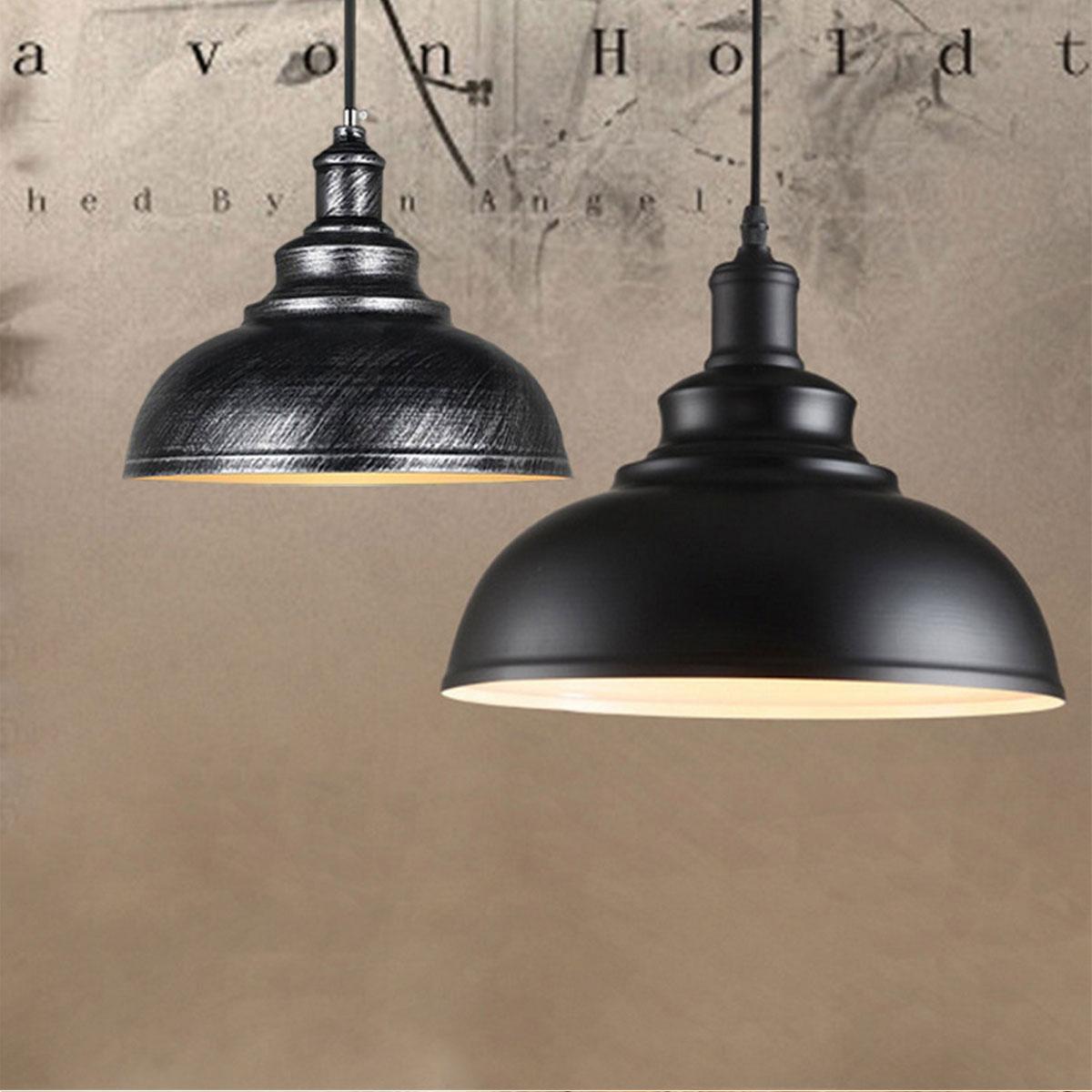 Vintage Pendant Lamp Iron Loft Retro E27 Industrial Bar Restaurant Lighting Hanging Chandelier Decorative Lampshade Pendant Lights     - title=