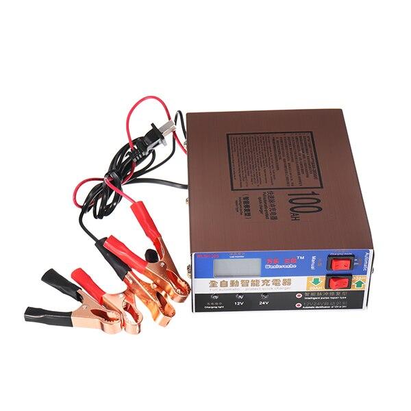 Batterie de voiture Chargeur 12 v 24 v Volt Moto Pur Cuivre Smart forPulse Réparation Batterie Auto Chargeur De Voiture Batterie Intérieur de charge