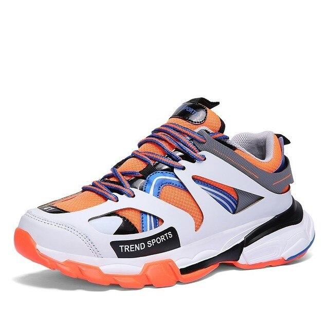 Popularne Adulto wysokiej jakości buty sportowe mody męskiej wygodne Hommes obuwie Zapatillas de deporte męskie buty w stylu casual Krasovki