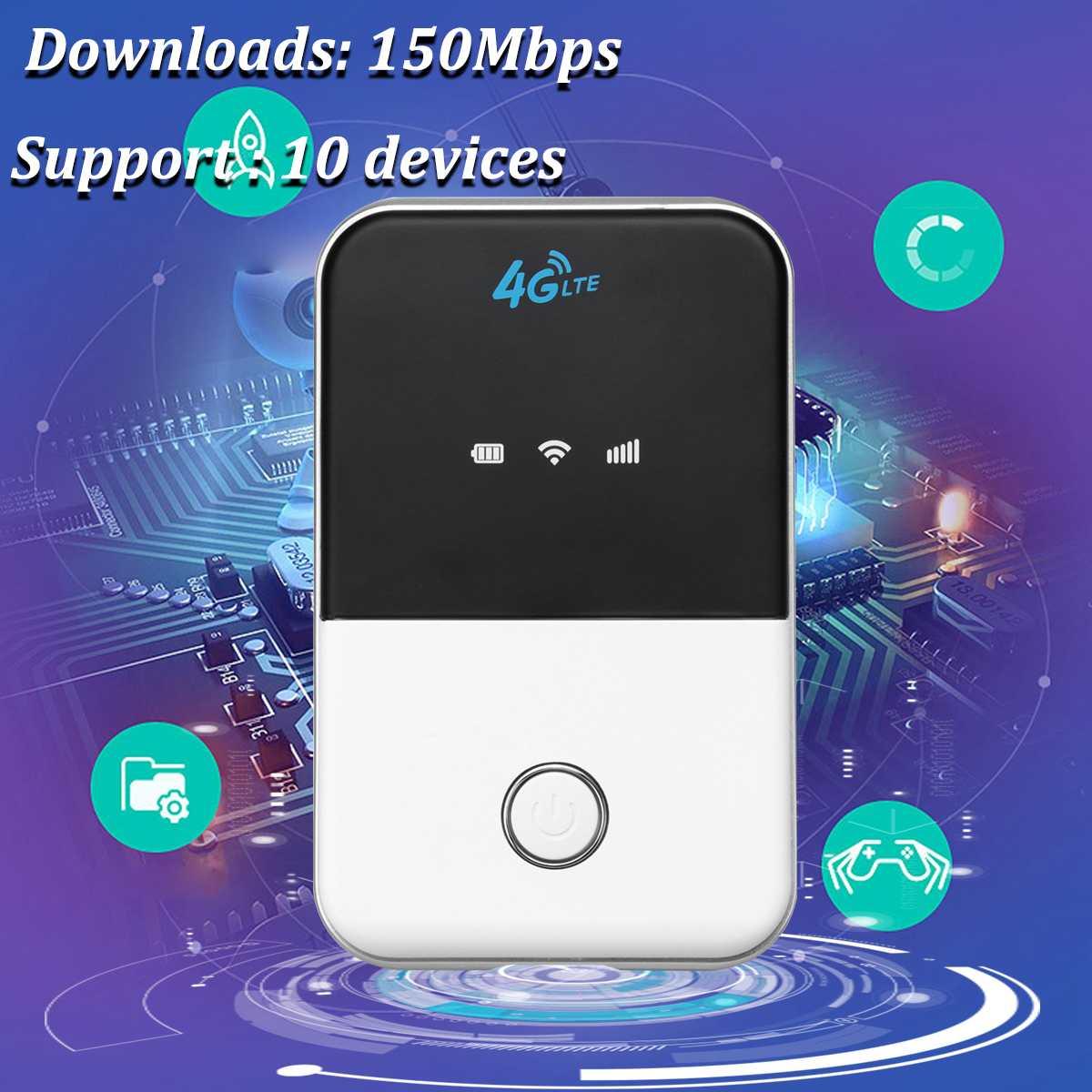 4G LTE Sans Fil routeur wifi mobile Poches Extérieure Hotspot Modem Haut Débit MF903 4 Mode/MF905 5 Mode