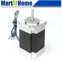 NEMA 23 57mm 2 Phase CNC Hybrid Stepper Motor 0.9 Degree 76mm 2.8A 4 leads for 3D Printers, Textile Machinery, Packaging Machine