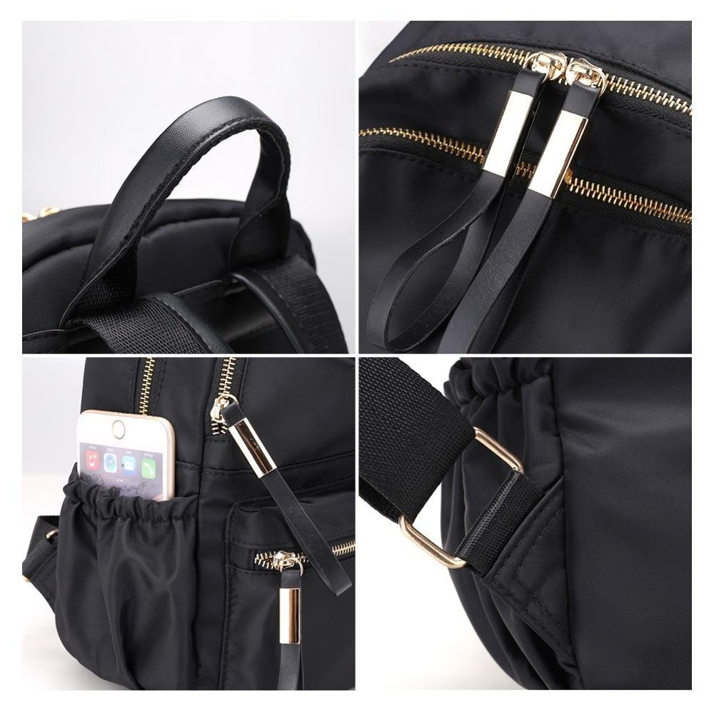 Herald Fashion Women Backpack Female High Quality Youth Backpacks For Teenage Girls Women School Shoulder Bags Bagpack Bookbag #5