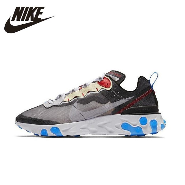 762f677fe6fa NIKE React Element 87 Original Mens And Womens Running Shoes Mesh  Breathable Sports Sneakers For Men