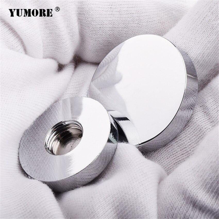 200sets lot Dia 16mm furniture decorative screws cover copper caps satin brushed