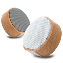 Retro Wood Bluetooth Speaker Portable Wireless Car Outdoor Mini Computer Desktop Supplies