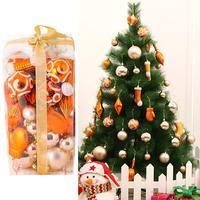 2018 Christmas Balls Holiday Decorations Christmas Tree Ornaments Festival Scene Arrangement