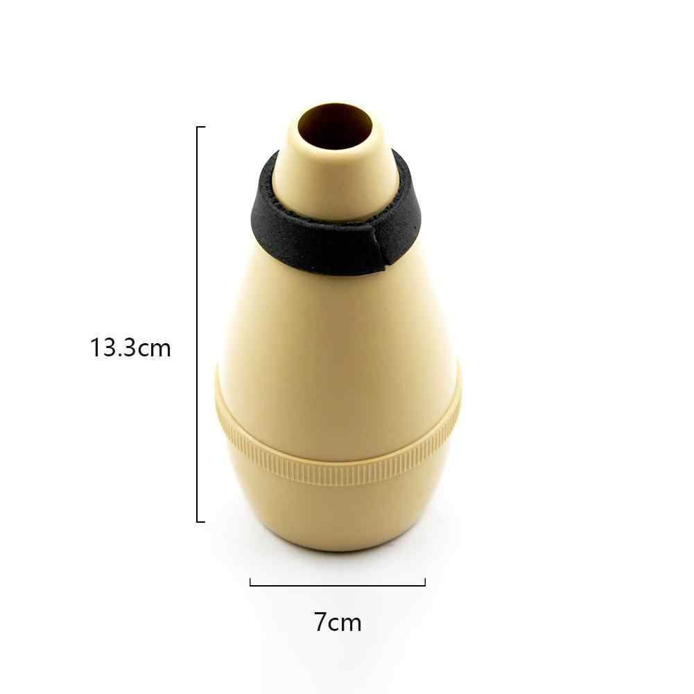 SLADE Trumpet Mute Silencer Practice Light weight ABS Trumpet Tool Woodwind Brass Instrument Parts Accessories Black Silver Gold